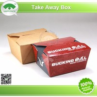 Wholesale china merchandise craft take away paper box