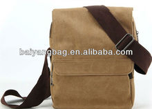 promotional lastest design fashion simple generous canvas messenger bag for man ,messenger shoulder bag for man