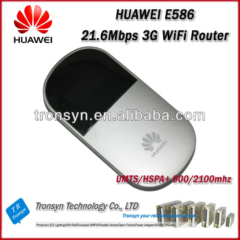 Original Unlock HSPA+ 21.6Mbps HUAWEI E586 3G Pocket Mobile Hotspot And 3G WiFi Router