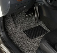 Anti-slip spike backing PVC car mat / pvc coil mat