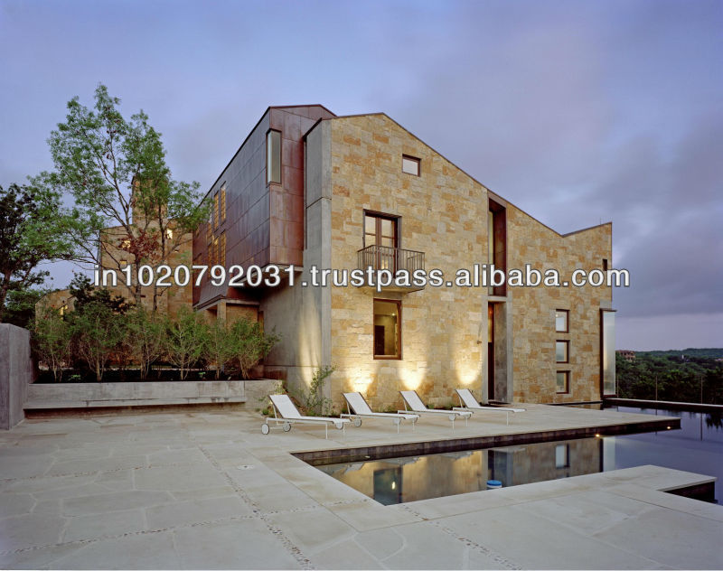 Residential Villa Individual Bungalow Architectural Design