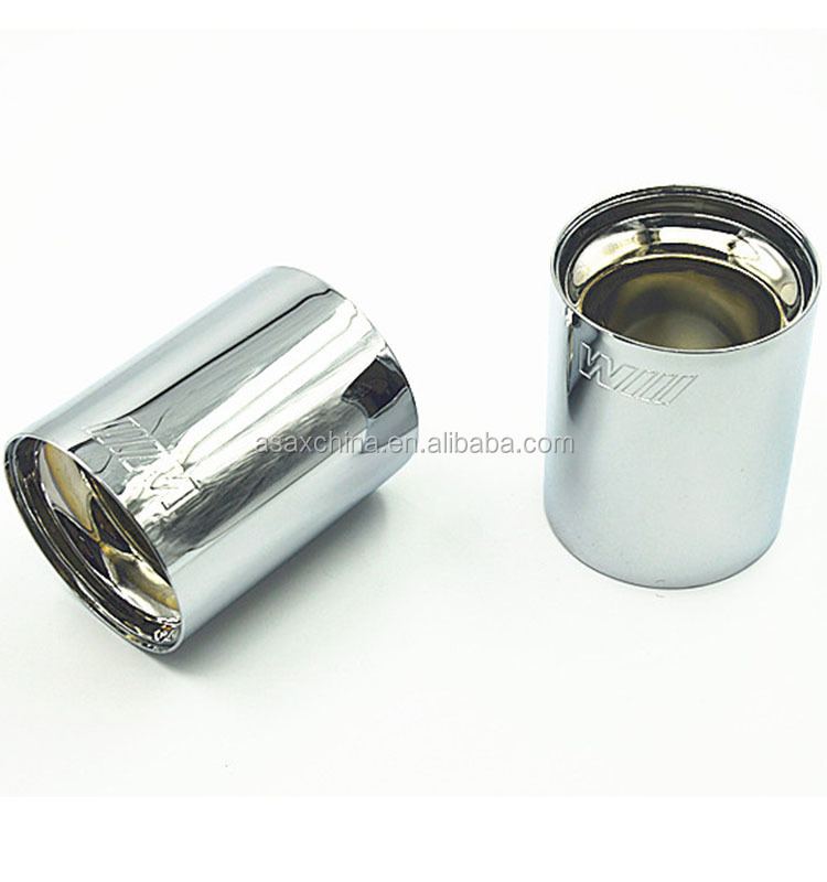 high quality 304 stainless steel exhaust tip for bmw <strong>muffler</strong>