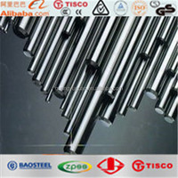 china iron steel rod 410 hot rolled stainless steel round bar