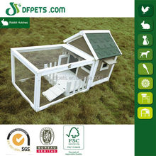 Hot Sale Rabbit House Designs With Run DFR065