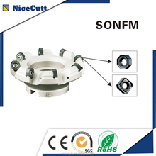 Nicecuttc SONFM facing sharp cnc milling cutter machine tools