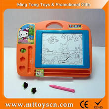 Orange color magic and erasable kids drawing board
