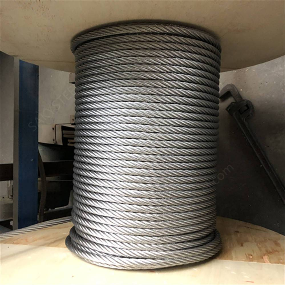 <strong>1</strong> <strong>x</strong> 19 304 3mm stainless steel wire rope