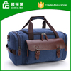 2016 New Design Canvas Travel Bag With Shouder Strap Duffel Bag