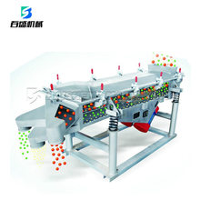 High capacity top quality aggregate linear vibrating screen