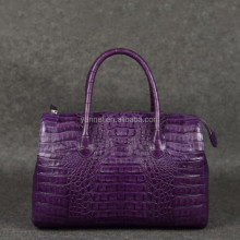genuine crocodile skin handbag_exotic handbag_crocodile tote_exotic handbag