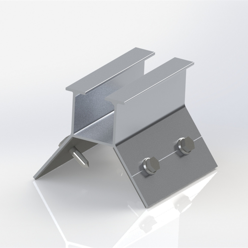 High Quality aluminum Solar Roof Clamp for solar roof mounting system