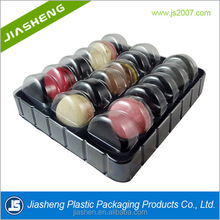 Recyclable blister pack plastic macaron clamshell packaging