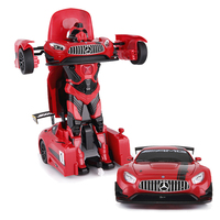 One key change shape car robot toy with dance feature