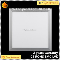 300x300 square kitchen led panel light 18W