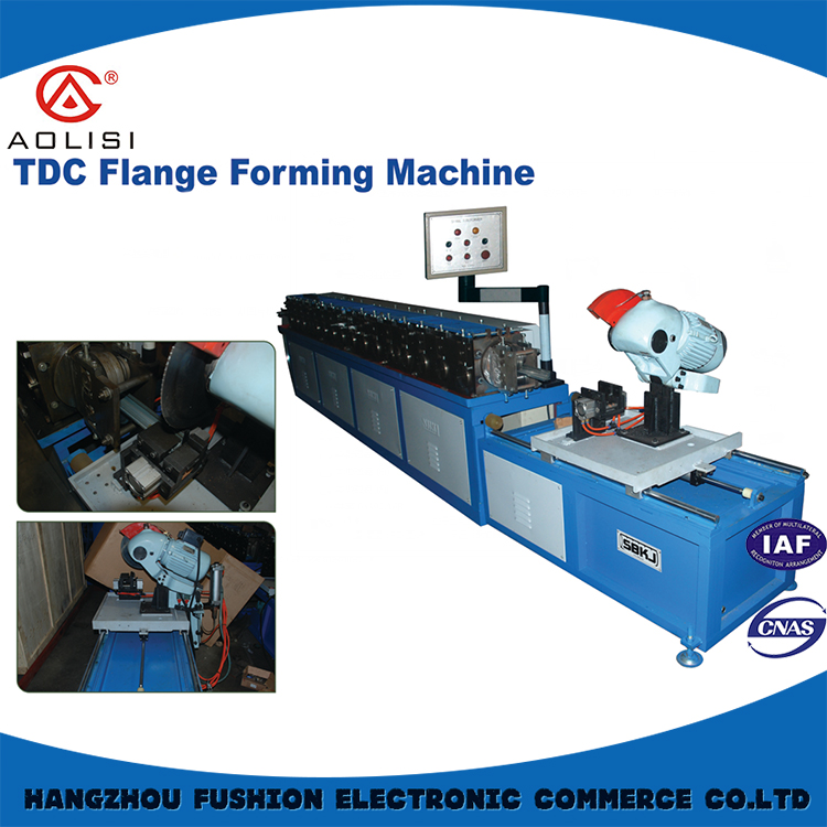 TDC Flange Rubber Tube Making Machine