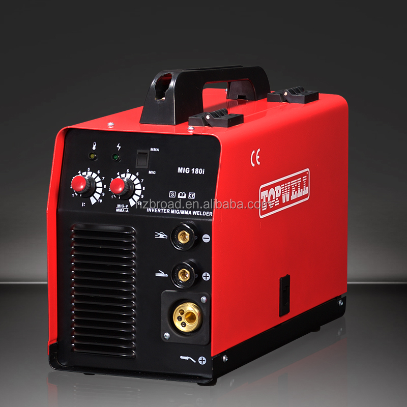 MIG180 TOPWELL CO2 gasless welder for steel MIG-180i