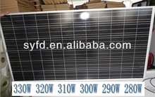 280W/290W/300W/310W/320W Tempered Glass Certificated High efficiency solar panel pv module with low cost Make in China