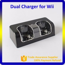 Battery For Wii Controller,White Charge Dock Station for Wii Remote