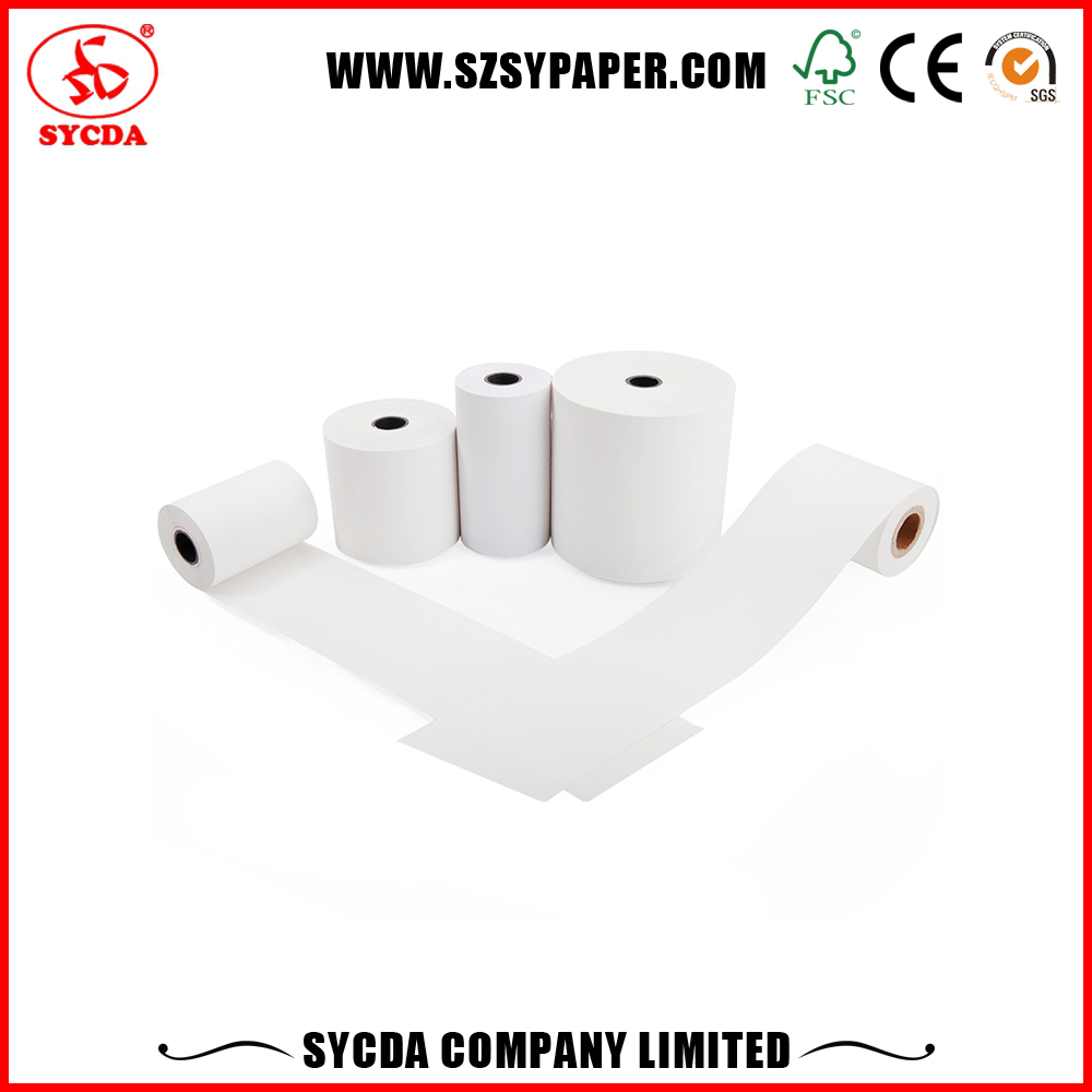 Bus Tickets Paper Thermal Roll receipt paper size For Bus Tickets Machine