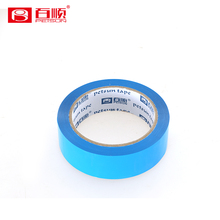 Blue PET clear protective adhesive tape