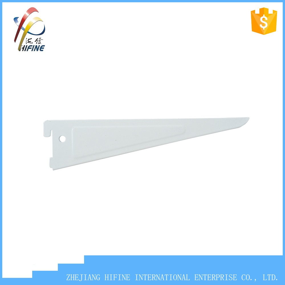 Shelf Bracket for double slotted wall upright