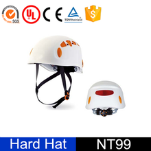 Industrial CE ANSI EN397 Approved ABS Material Hard Hat with Chin Strap