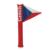 PE inflatable cheering stick with flag