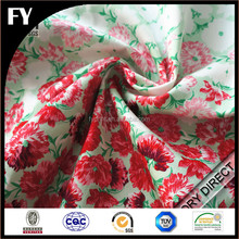 Custom digital printed fabric 95 cotton 5 elastane