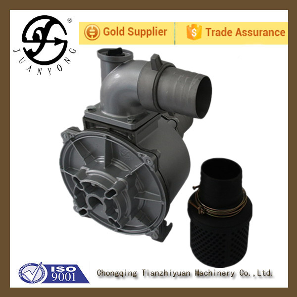 Chongqing 4 inch agricultural irrigation universal electric fuel or engine driven water pump