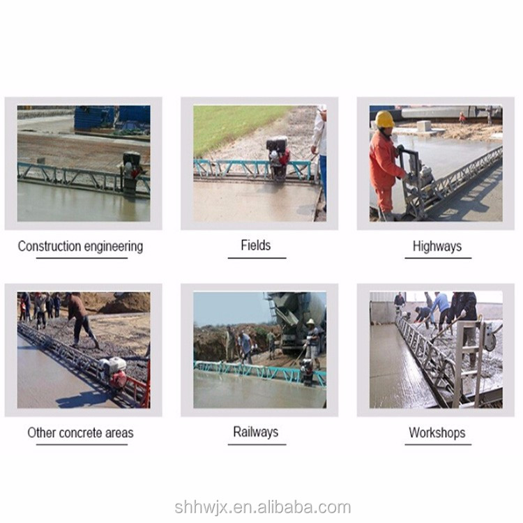 best price steel concrete vibrating truss screed