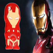 New arrival super hero design silicone cover for iphone