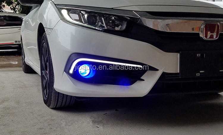 Car accessories car LED DRL Daytime Running Light for Honda civic 2016 parts