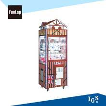 new arrival crane claw gift machine toy vending machine for shopping mall