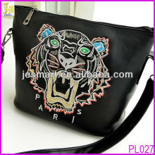 New Arrival Tiger Head Bag For Lady Long Strip Leather Shoulder Bag Messenger Bag China