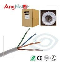 Online shopping 24awg 4pairs cat 5e cable plenum network cable 1000ft /roll bulk cat5e cable