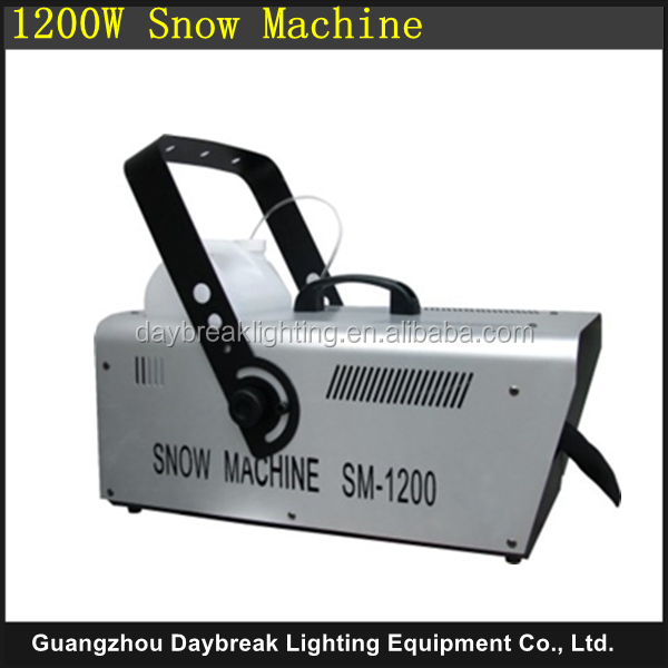 stage special effect snow machine remote control / wire control / dmx512 snowmaker machine