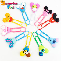 bookmark balloon shape kawaii font b paperclip b font pin soft pvc bookmarks lovely book