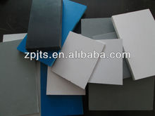 uv pvc sheet rigid board with marble , wood , pure color