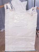 Shandong manufacture fibc bag 1 ton jumbo bag with spout