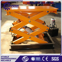 2.5T Small portable hydraulic mini scissor lift,scissor lift table used for sale