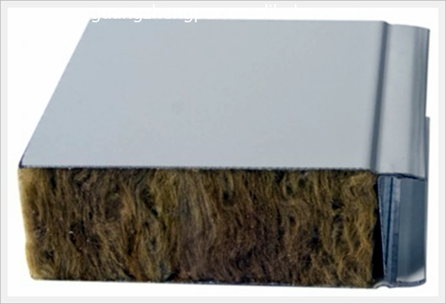 Stone wool insulation steel sandwich wall panel buy for Steel wool insulation