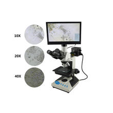student microscope to observe cell on lcd biological microscope