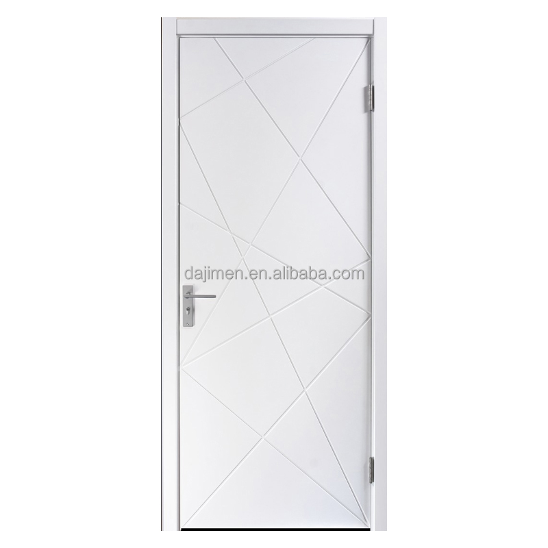 Wooden fire door exit fire rated door