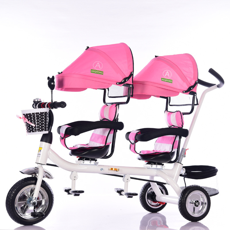 China factory wholesale luxury twins good baby stroller