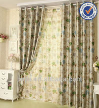zhejiang design black out used home textile curtains