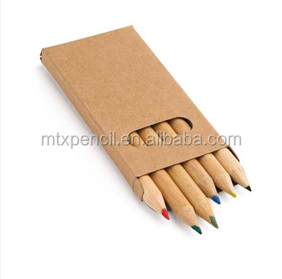 High Quality drawing natural Wooden color Pencil in paper box