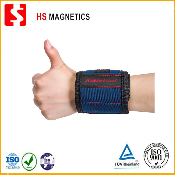 Strong Neodymium Magnet Magnetic Tool Wristband With 12 PCS Magnets For Holding Small Tools
