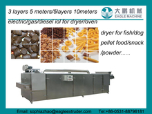 Stainless steel Inductrial Dog food drying machine/dryer/electric dryer/gas dryer