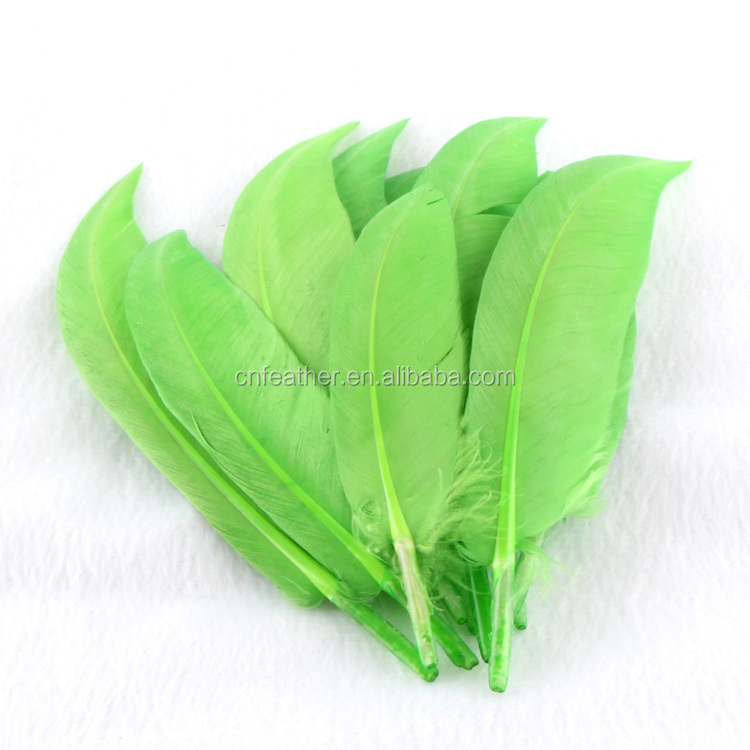 Wholesale 10-15 cm nature goose feathers for decoration or archery arrows