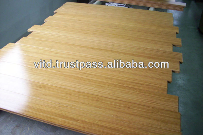 high density Bamboo flooring manufactured in Vietnam